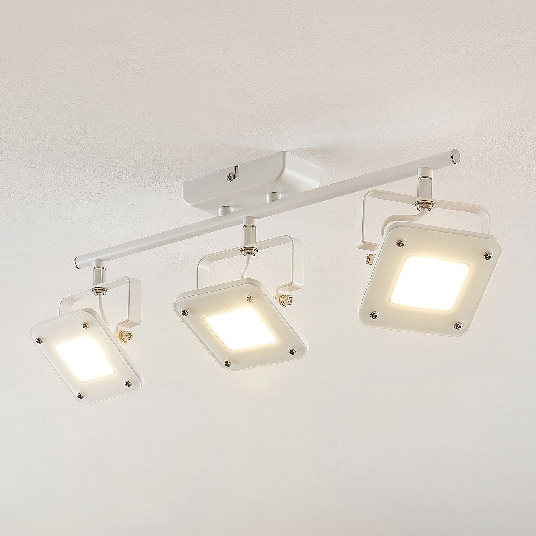 LED-takspot Juliana, dimbar, 3 lyskilder