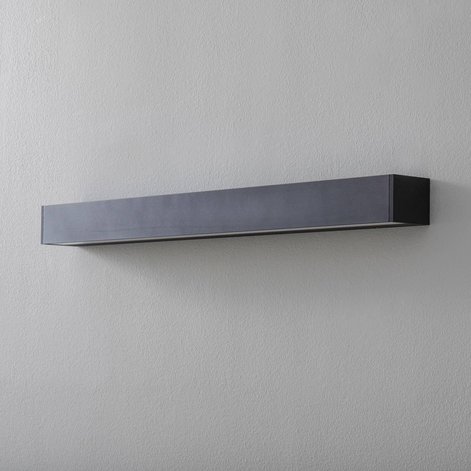 BEGA 50805 LED-vegglampe 930 svart 92 cm 9270 lm