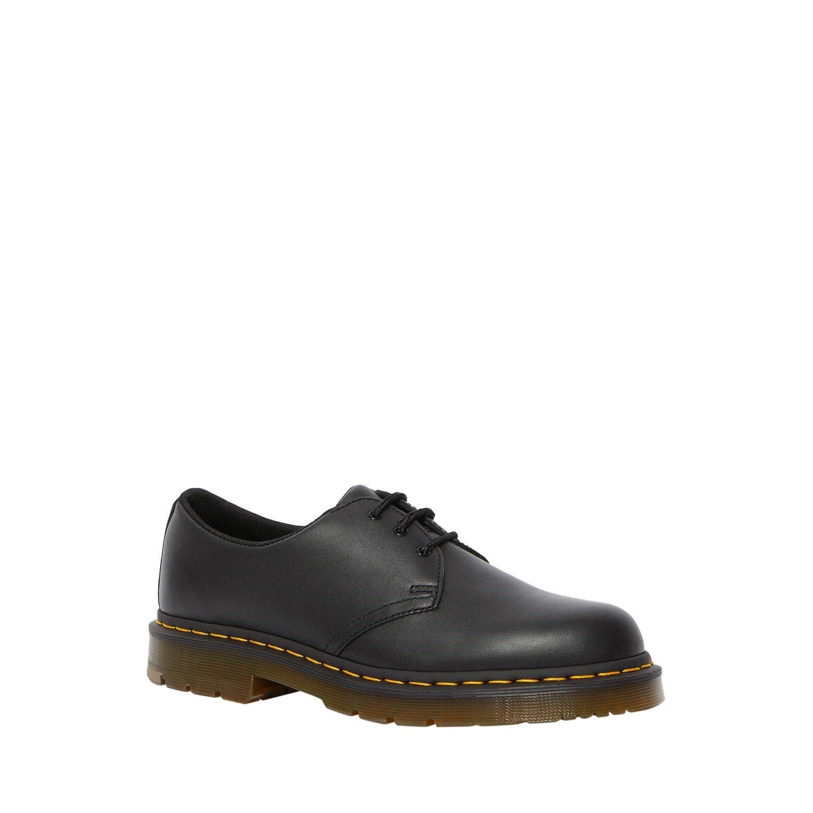 Dr Martens Unisex Slip Resistant Leather Shoes Black 34025 - Black 3