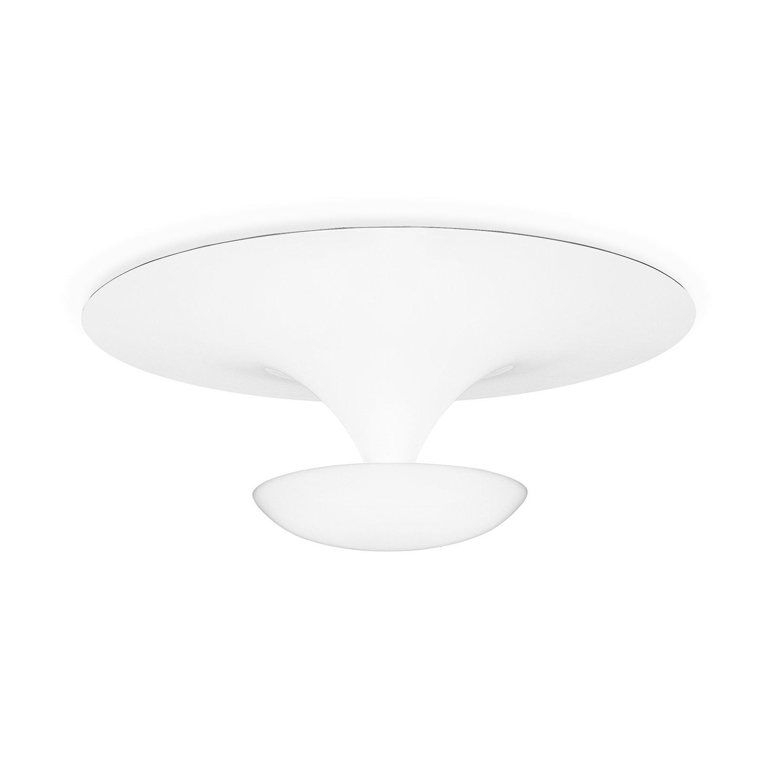 Vibia Funnel - taklampe 50 cm, matt hvit