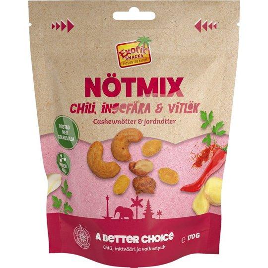 Nötmix Chili, Ingefära & Vitlök - 36% rabatt