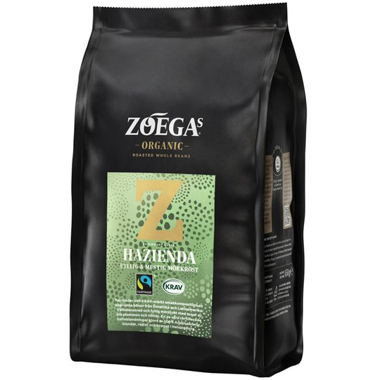 Luomu Kahvipavut Hazienda 450g - 25% alennus