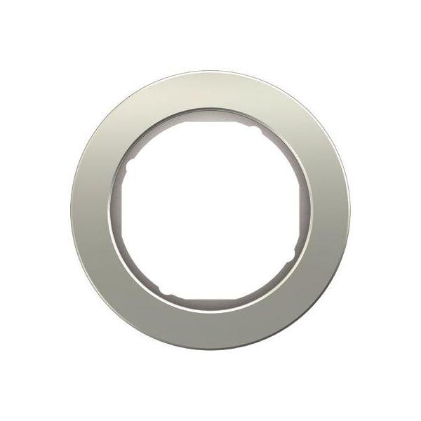 Hager 10112074 Peitekehys 1-paikkainen Alumiini/valkoinen