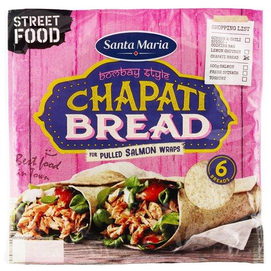 """Bröd """"Chapati"""" 270g - 67% rabatt"""