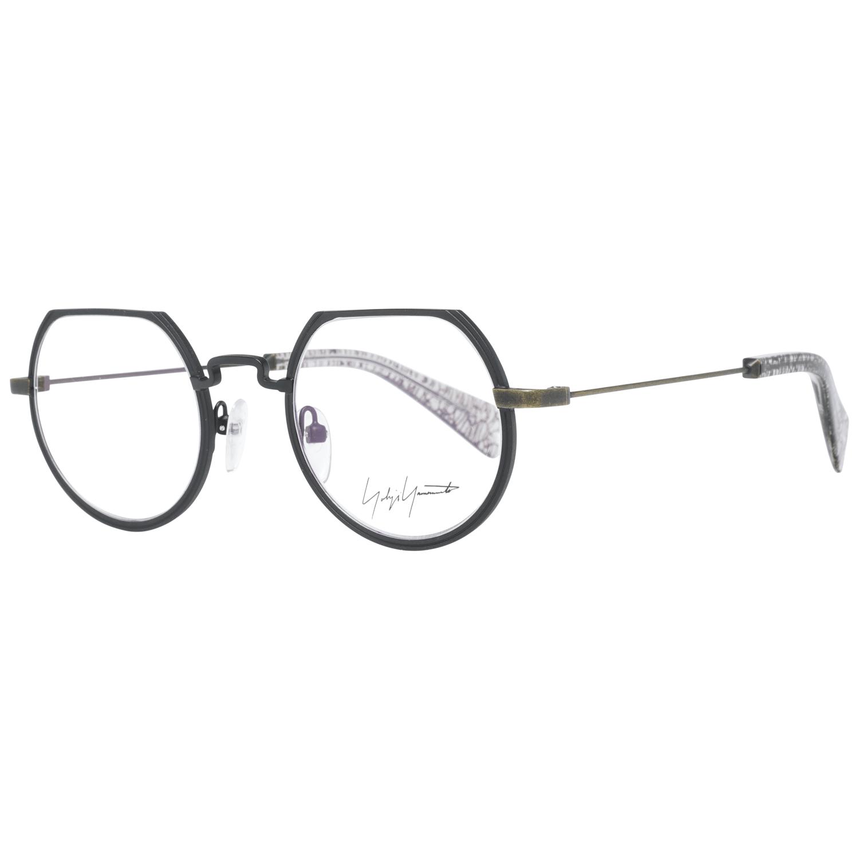 Yohji Yamamoto Men's Optical Frames Eyewear Black YY3020 46004
