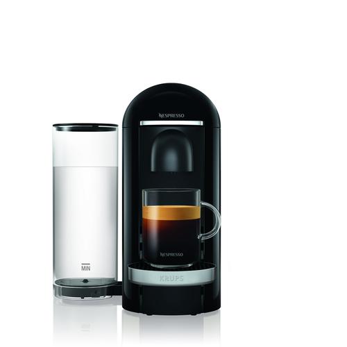 Nespresso Vertuo Plus Deluxe, 1,8 L., Black Kapselmaskin - Svart