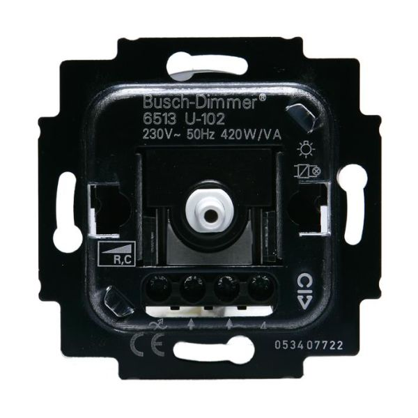 ABB Impressivo Valonsäädinlaite Hehkulamppu 230V, HALO 600W