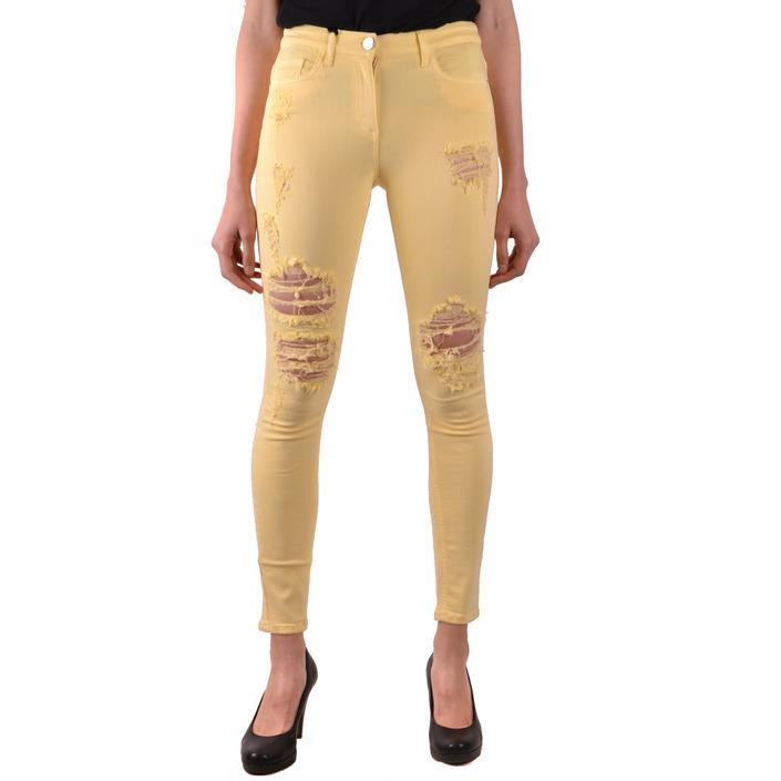 Elisabetta Franchi Women's Jeans Yellow 166923 - yellow 26