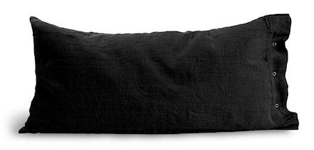 Lovely linen putetrekk – Dark grey, 40x80