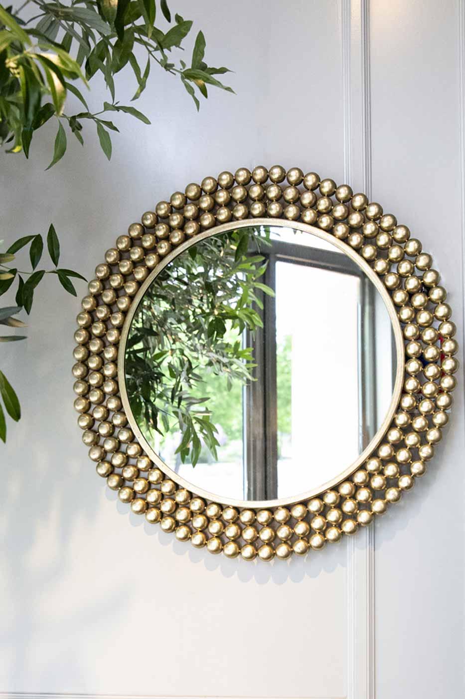 Spegel Dotted rund