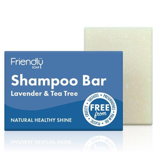 Friendly Soap Shampoo Bar Lavender & Tea Tree, 95 g