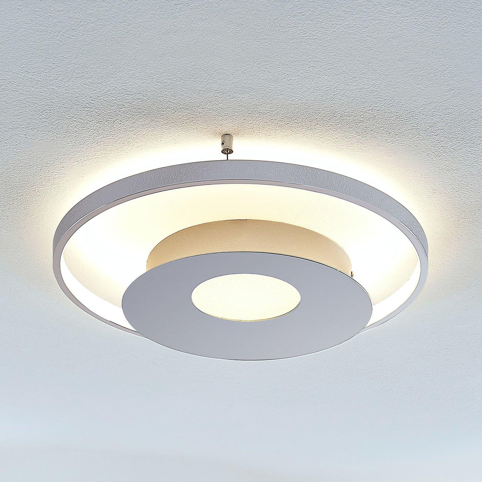 LED-taklampe Anays, rund, 42 cm