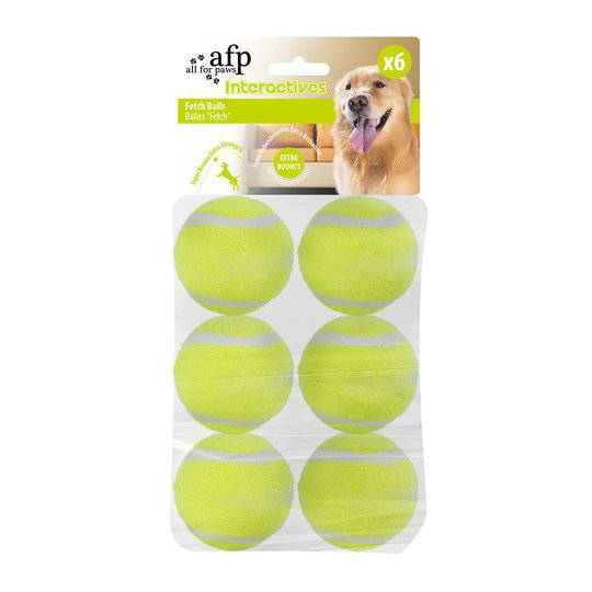 All For Paws Hyper Fetch Extrabollar 6-pack