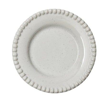 DARIA Desserttallerken Hvit 22 cm
