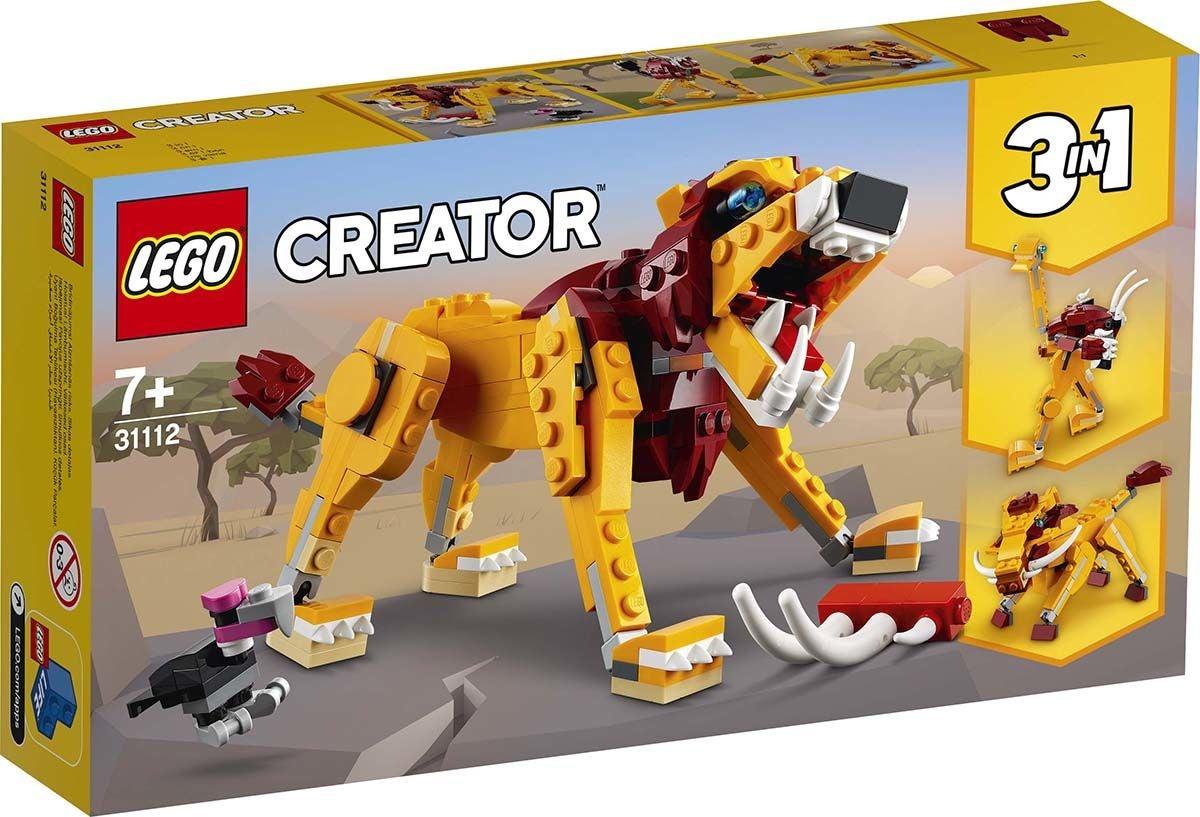 LEGO Creator 3-in-1 31112 Villi Leijona