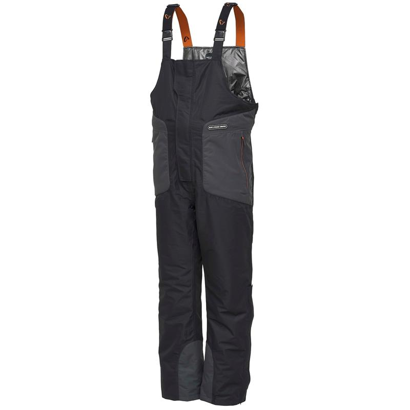 Savage Gear HeatLite B&B Black XL Black - Teknisk og slitesterk bukse