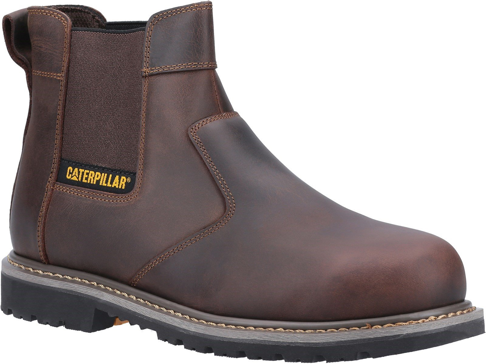 Caterpillar Unisex Powerplant Dealer Safety Boot Brown 31902 - Brown 6