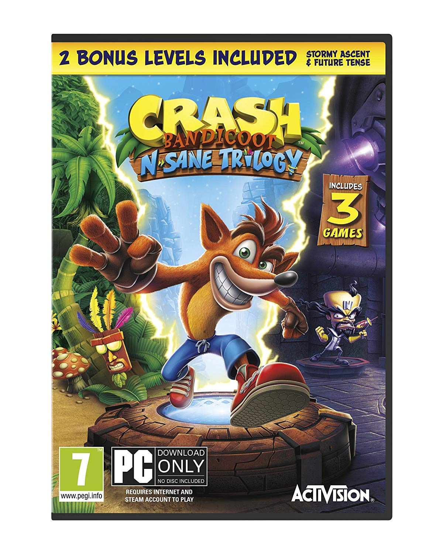 Crash Bandicoot - N'Sane Trilogy Remastered (Code in a Box)