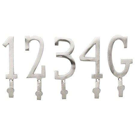 Dana Krok Sett 4,5x12 cm - Sølv