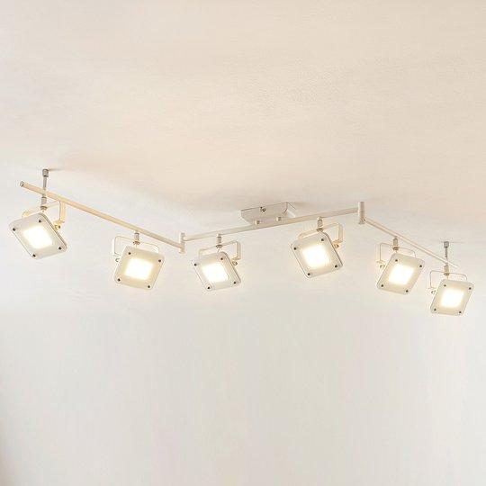 LED-kattospotti Juliana himmennettävä 6-lamppuinen