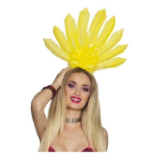 Diadem Samba Neongul - One size