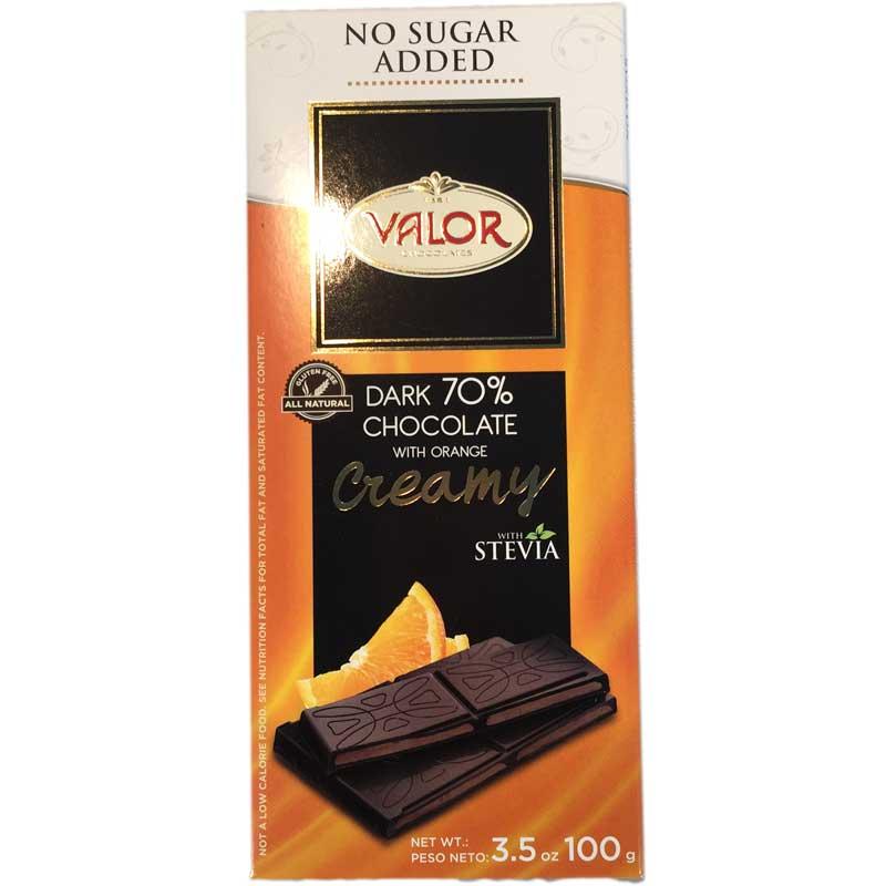 Mörk choklad 70% med apelsin - 67% rabatt