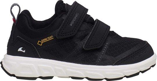 Viking Veme Vel GTX Sneaker, Black/Charcoal, 22