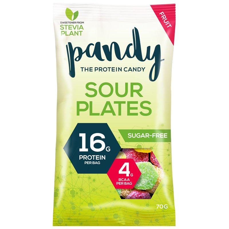 """Godis """"Sour Plates"""" 70g - 60% rabatt"""