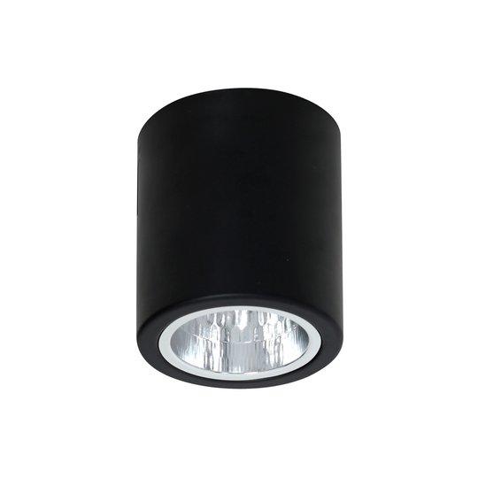 Takspot Downlight round i svart, Ø 11 cm