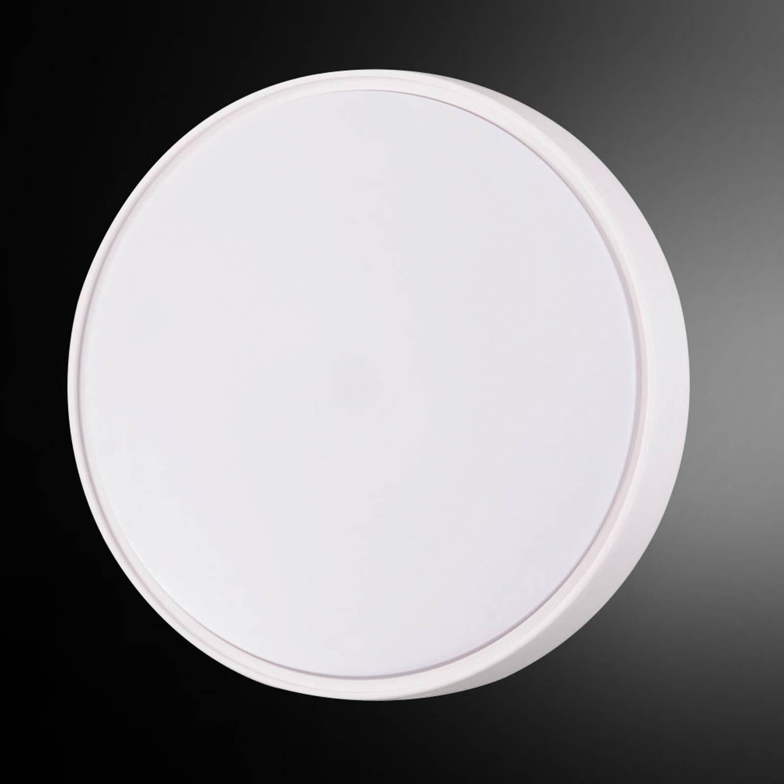 LED-taklampe Hatton IP65 30cm med godt lys