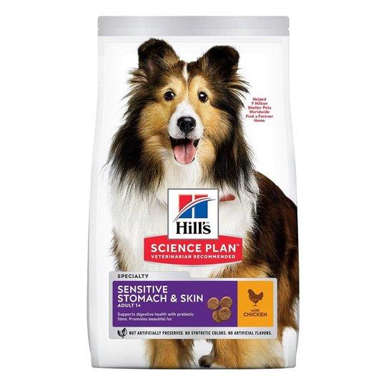 Hill's Science Plan Dog Adult Sensitive Stomach & Skin Medium Chicken (2,5 kg)