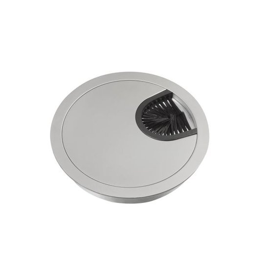 Schneider Electric Unica Kaapelin läpivienti suljettu, 80 mm