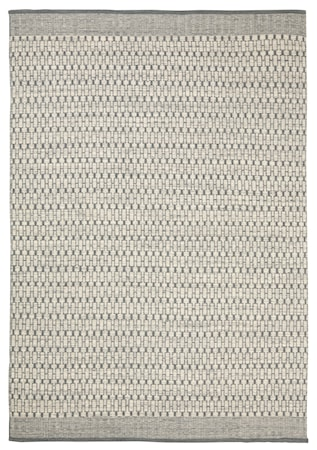 Mahi Matta Ull Off White/Grå 200x300 cm