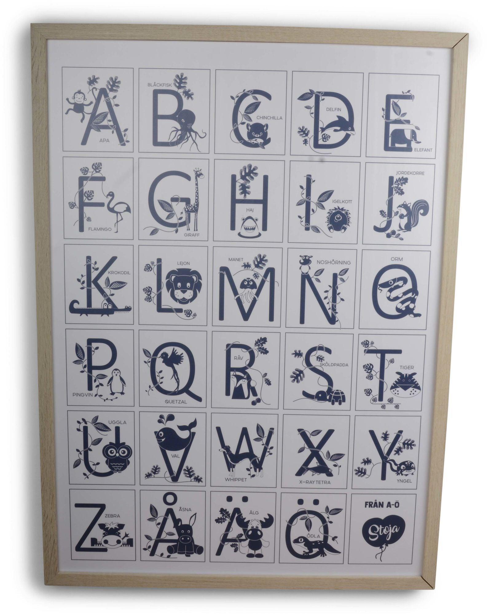 Form Living Taulu Alfabet, Sininen