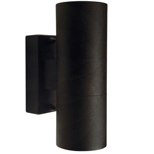 Nordlux TIN 21279903 Julkisivuvalaisin GU10, 2x35W, IP54 Musta