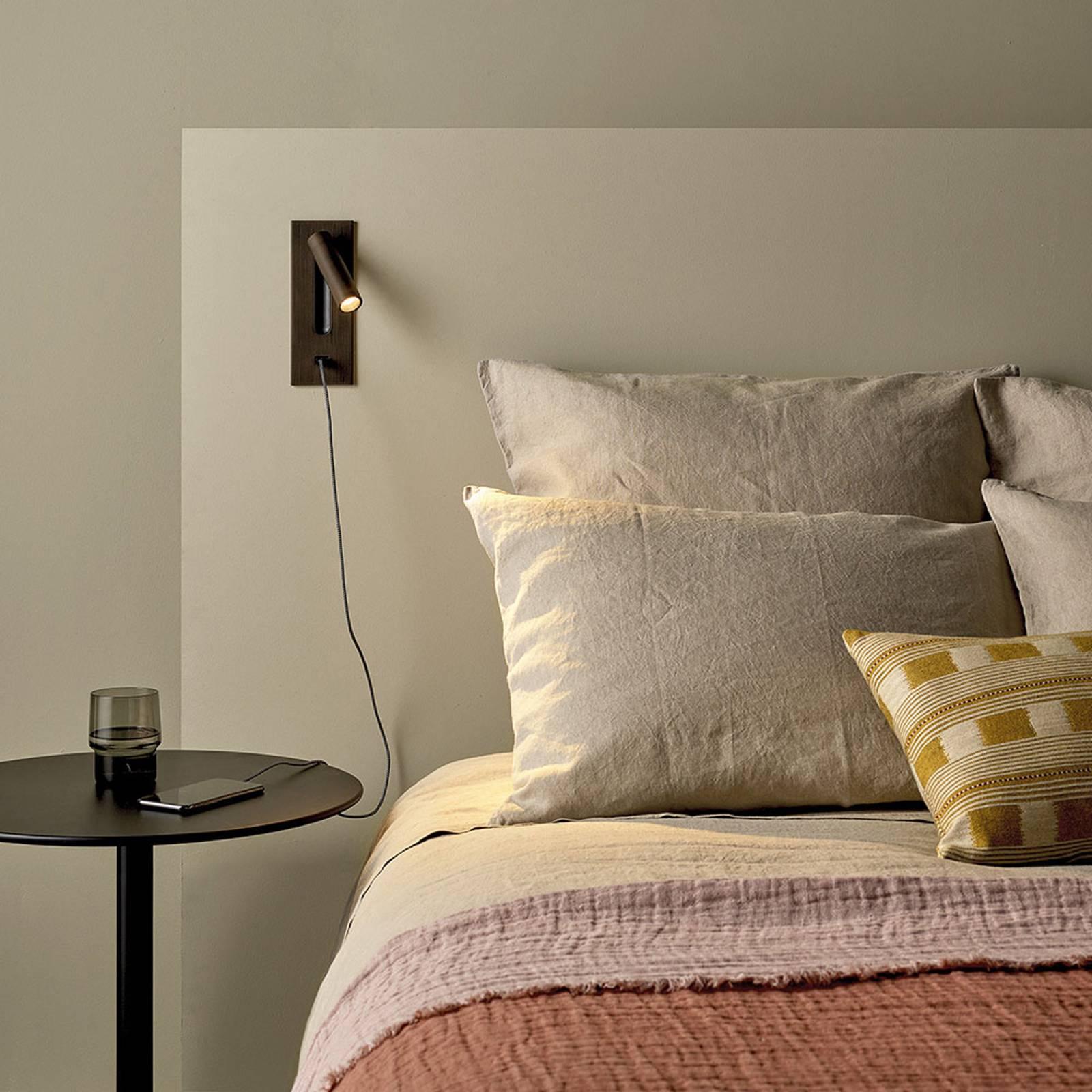 Astro Fuse LED USB -LED-seinäuppovalaisin, nikkeli