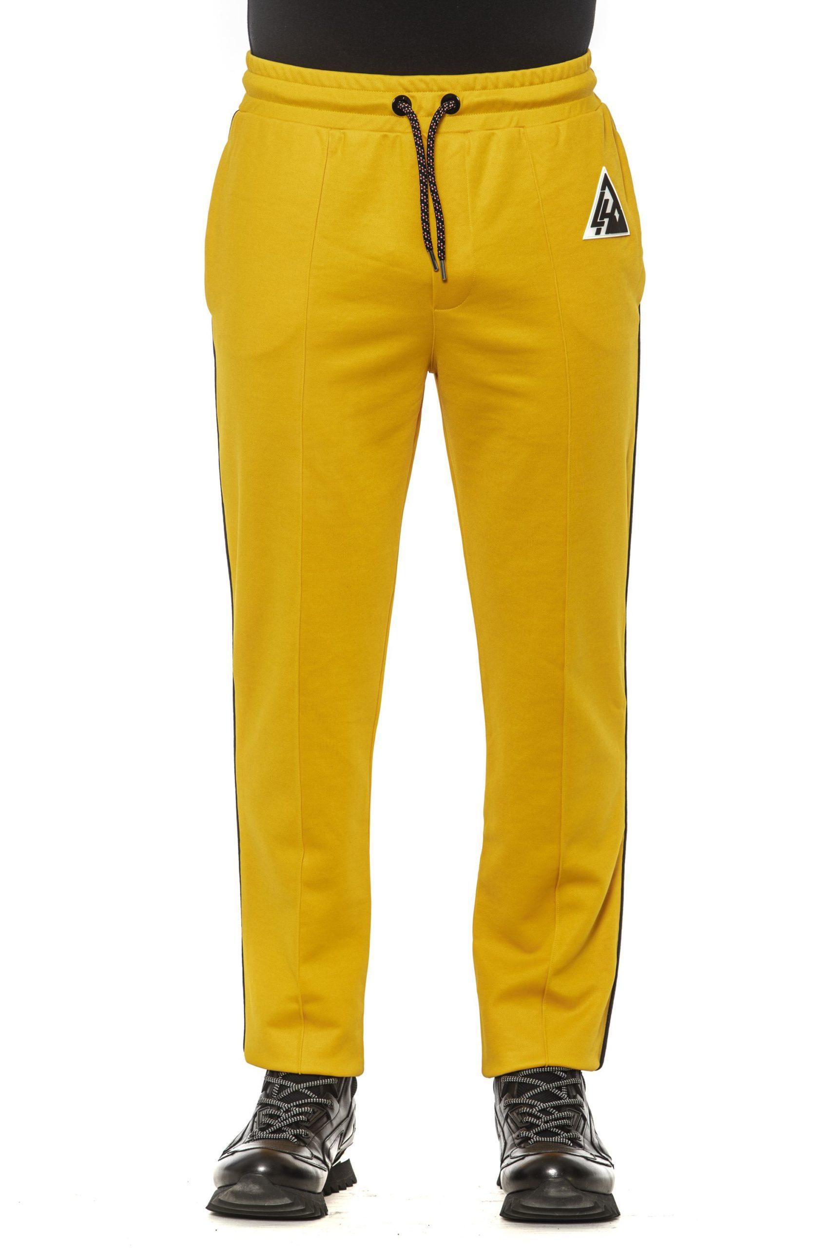 Les Hommes Men's Trouser Yellow LE1393552 - S