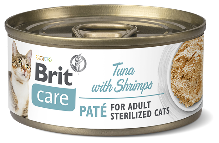 Brit Care Tuna with shrimps 70 g