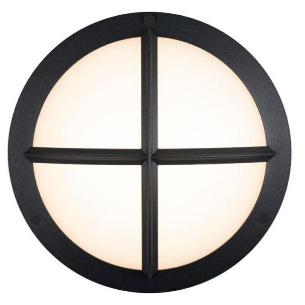 Hide-a-Lite Moon Public Cross I Veggarmatur 3000/4000 K, 16 W, IP65, IK10 Antrasitt, 1070 lm