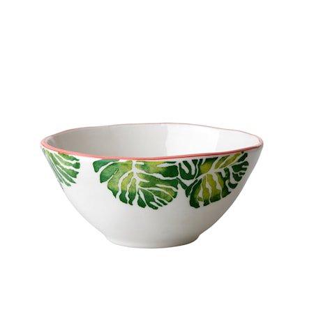 Tropical Leaf Skål D:16 cm Keramikk