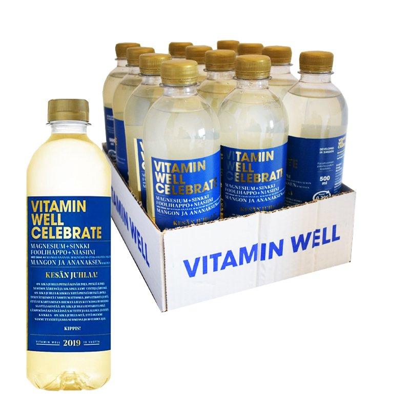 Vitamiinijuomat Mango & Ananas 12kpl - 58% alennus