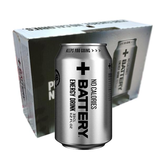 Battery Energy No Calories - 33cl x 24st