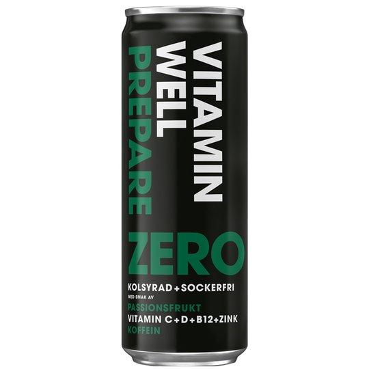 """Dryck """"Prepare Zero"""" 355ml - 37% rabatt"""