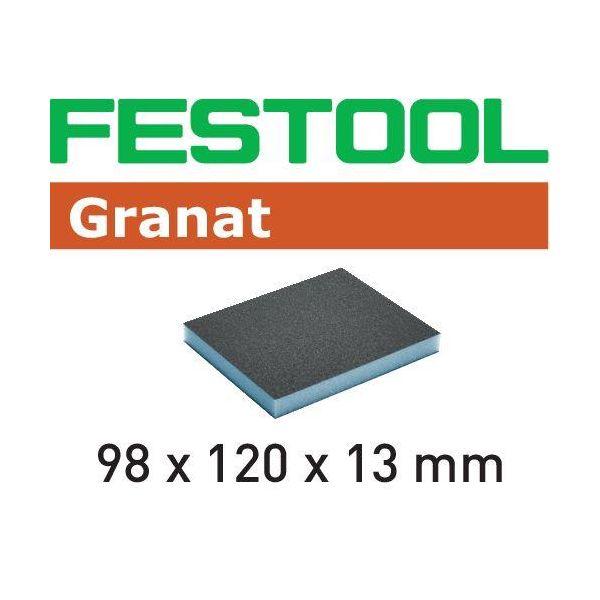 Festool GR Hiomasieni 98x120x13mm 6 kpl. 120