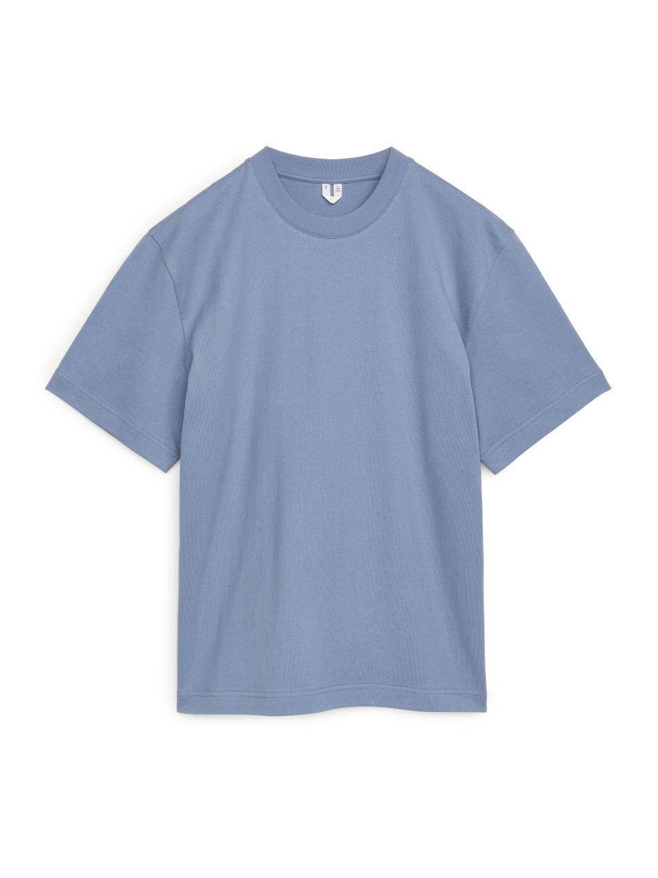 Oversized Heavyweight T-shirt - Blue