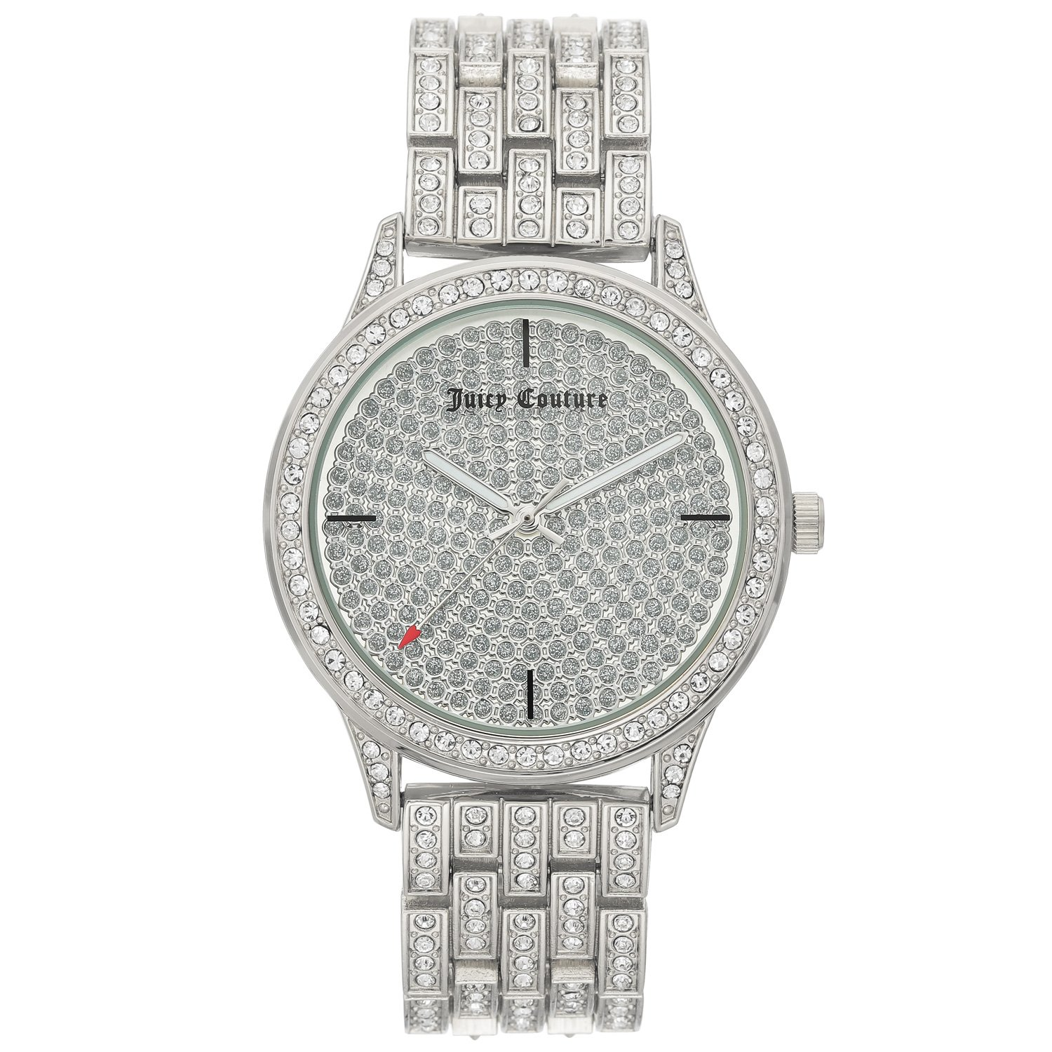 Juicy Couture Women's Watch Silver JC/1138PVSV