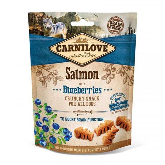 Carnilove Dog Crunchy Snack Salmon & Blueberries 200 g