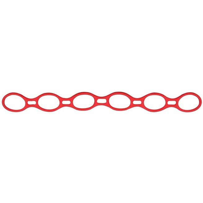vidaXL Träningsband Helix rosa