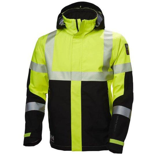 Helly Hansen Workwear ICU Kuoritakki huomioväri, keltainen/musta Koko S