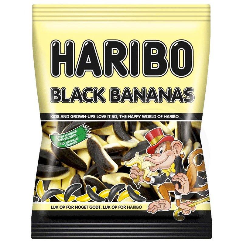 """Godis """"Black Bananas"""" 135g - 61% rabatt"""